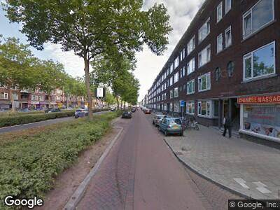 Brandweer naar Pleinweg in Rotterdam vanwege wateroverlast