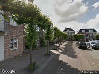 Brandweer naar Raadhuisstraat in Grou