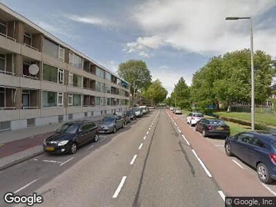 Ambulance naar Kerkwervesingel in Rotterdam