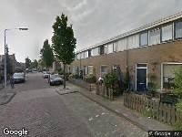 112 melding Ambulance naar Leemansstraat in Leiden