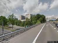 112 melding Brandweer naar Beneluxbaan in Amstelveen vanwege ongeval met letsel