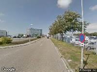 112 melding Ambulance naar Luchthavenweg in Den Helder vanwege verkeersongeval