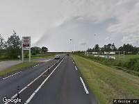 Politie naar Rondweg-oost in Veenendaal vanwege aanrijding met letsel