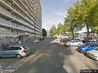 112 melding Besteld ambulance vervoer naar Stresemannplaats in Rotterdam