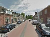 Ambulance naar Hoevenseweg in Tilburg