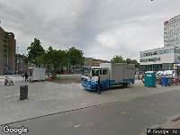 Ambulance naar Burgemeester s'Jacobplein in Rotterdam
