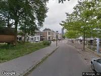 112 melding Brandweer naar Zuidergrachtswal in Leeuwarden