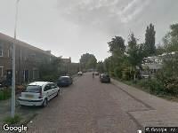 112 melding Politie naar Storm Buysingstraat in Leiden vanwege ongeval met letsel