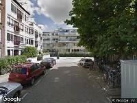 112 melding Ambulance naar Burmanstraat in Amsterdam