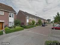112 melding Brandweer naar Glanswit in Zoetermeer vanwege waarnemen gaslucht