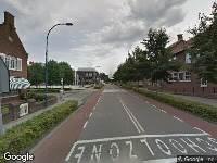 Ambulance naar Wilhelminastraat in Waalwijk
