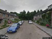 112 melding Brandweer naar Fort in Breda