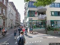112 melding Ambulance naar Nieuwe Doelenstraat in Amsterdam