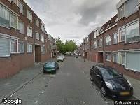 Ambulance naar Mariastraat in Schiedam