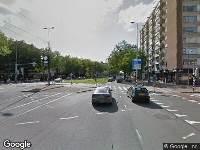 Ambulance naar Goudsesingel in Rotterdam
