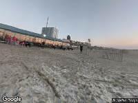 Brandweer naar Strandafgang Paulus Loot in Zandvoort vanwege verkeersongeval