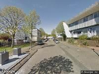 112 melding Brandweer naar Blankenbergestraat in Amsterdam vanwege voertuigen te water