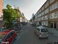 112 melding Ambulance naar Hudsonstraat in Amsterdam