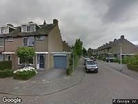 Brandweer naar W. Vrijlandtstraat in Oud-Beijerland vanwege gebouwbrand