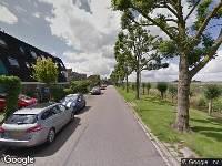 112 melding Ambulance naar Weidezoom in Moordrecht