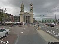 Ambulance naar Waterlooplein in Amsterdam