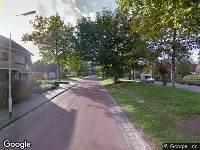 112 melding Brandweer naar Van der Waalsstraat in Terneuzen vanwege een buitenbrand