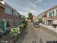 112 melding Brandweer naar Saturnusstraat in Utrecht