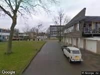 112 melding Brandweer naar De Kei in Leeuwarden vanwege verkeersongeval