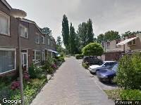 112 melding Ambulance naar Paardenburg in Gouda