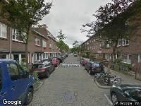 112 melding Brandweer naar Minahassastraat in Utrecht vanwege een buitenbrand