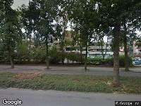 112 melding Brandweer naar Van Wijckersloothplein in Oegstgeest vanwege brand
