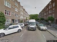 Ambulance naar Tweede Van der Helststraat in Amsterdam