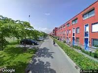 112 melding Brandweer naar Siennastraat in Almere vanwege waarnemen gaslucht