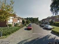 112 melding Ambulance naar Willem van Heesstraat in Breda