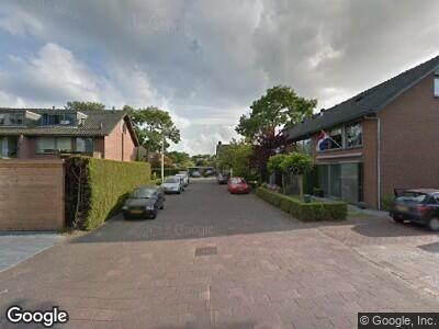 Ambulance naar Frankenlaan in Tilburg