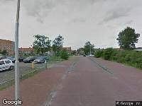 112 melding Brandweer naar Reviusstraat in Leeuwarden