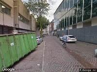 Brandweer naar Nieuwstraat in Zwolle