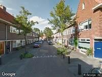 Brandweer naar Berkelstraat in Utrecht