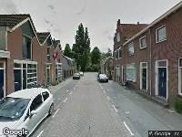 Ambulance naar P.C. Bothstraat in Gouda