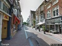 Brandweer naar Sint Jacobsstraat in Leeuwarden vanwege verkeersongeval
