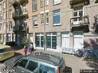 Ambulance naar J.J. Cremerplein in Amsterdam