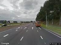 Brandweer en politie naar Backer en Ruebweg in Breda