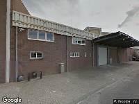 112 melding Brandweer naar Woudmansstraat in Leeuwarden