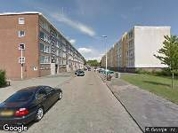 112 melding Ambulance naar Middelharnisstraat in Rotterdam