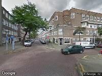 Brandweer naar Van Spilbergenstraat in Amsterdam