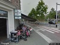 Politie naar Wibautstraat in Amsterdam vanwege letsel