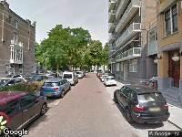 112 melding Ambulance naar Parkstraat in Rotterdam
