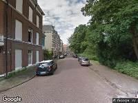 Ambulance naar Delistraat in 's-Gravenhage