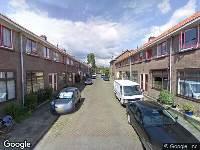 112 melding Ambulance naar R.C. Bakhuizen van den Brinkstraat in Gouda