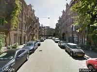 Ambulance naar Busken Huetstraat in Amsterdam